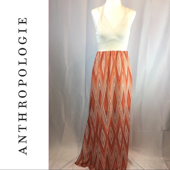 de0ca7d5cbfb Anthropologie Dresses   Skirts - Anthro Maude Halter Maxi Dress